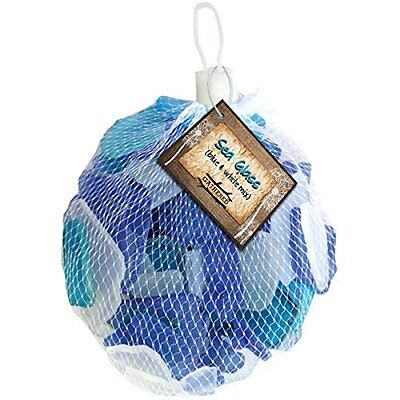 Gathered, By Bci Crafts-Gathered Sea Glass 12.5Oz-Blue And White 159798