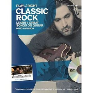 Play it Right - Classic Rock - Learn 8 great songs on guitar (Book & DVD)