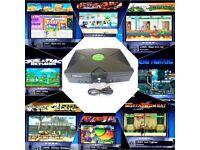 Xbox 160gb Coinops 8 Retro Gaming Setup 7000+ Games