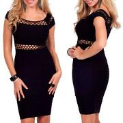 Mesh Cut Out Dress