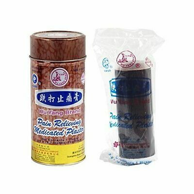 Wu Yang Brand Pain Relieving Medicated Plaster Patch( 10x 200cm)by SOLSTICE CO.