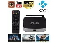 Original Fully Loaded TX1 S85 Smart TV Android Box Amlogic S805 Quad Core 3D/4k High Quality