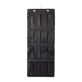 IKEA SKUBB Hanging shoe organiser w 16 pockets black