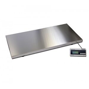 Burtons Extra Large Platform Weighing Scales with Non Slip Mat
