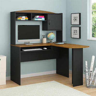 Corner Computer Desk L-Shaped Laptop Workstation Home Office Student Furniture