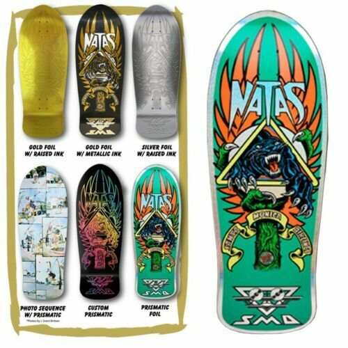 SANTA CRUZ SMA Natas Kaupas Blind Bag PRISMATIC FOIL Skateboard Deck NEW roskopp