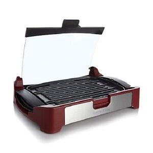 New in box Curstis Stone 1700 watt reversible grill griddle.