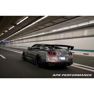 "APR Performance Carbon Fiber GTC-500 Adjustable Wing Spoiler 71"" R35 GT-R New"