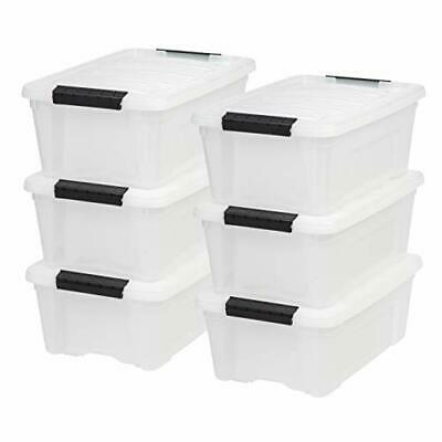 IRIS USA, Inc TB-42 12 Quart Stack & Pull Box, Multi-purpose