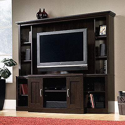 مكتبة تلفزيون جديد Entertainment Center – Cinnamon Cherry – Sauder Select Collection (403932)