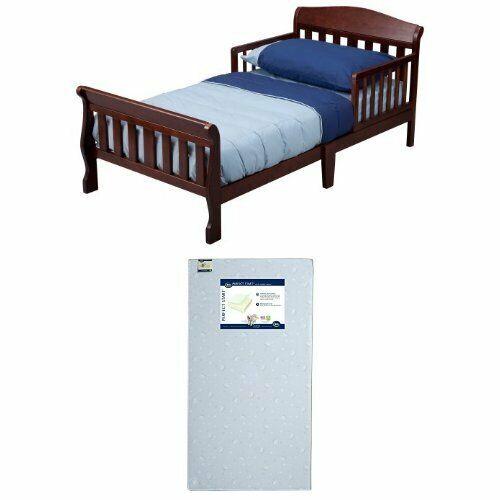 Toddler Bed With Mattress Set Safety Rails Children Kids Gir