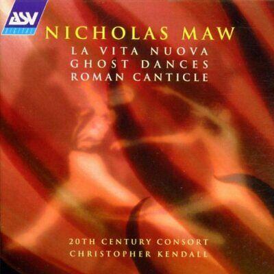 Maw: Ghost Dances/La Vita Nuova/Roman Canticle -  CD XFVG The Cheap Fast Free