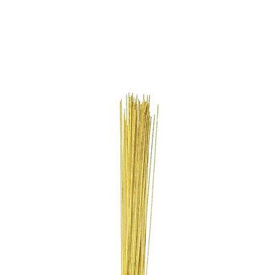 22 Gauge Metallic Gold Florist Wires