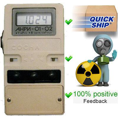 Dosimeter Anri-01 Sosna 4-x Sbm-20 An Pripyat Radiometer Geiger Counter Detector