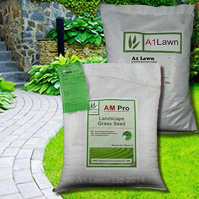LANDSCAPE GRASS SEED 10kg & PRE-SEEDER FERTILISER 10kg (MULTI-SAVE PACK)
