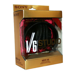 Sony-MDR-V6-Monitor-Series-Headphones-CCAW-Voice-Coil-Over-The-Ear-Headphone-NEW