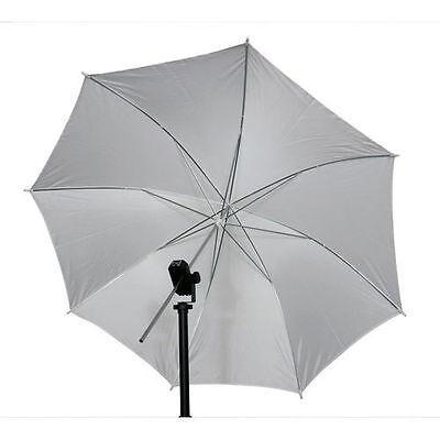 "33"" 83cm Studio Video Flash Light Photograph Diffuser Translucent White Umbrella for sale  Shipping to Nigeria"