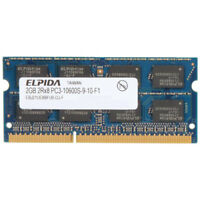 elpida laptop memory RAM 2gb 2rx8 pc3-10600s-9-10-f1