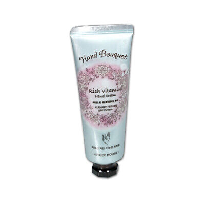 [ETUDE HOUSE] Hand Bouquet Rich Vitamin Hand Cream - 50ml / Free Gift