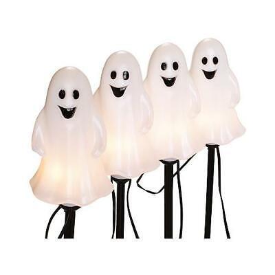 Halloween Pathway Lights, Ghost, 4-Pc. Set