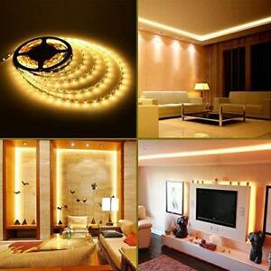 SALE!! LOW VOLTAGE STRIP LIGHT 12V -WARM WHITE 3K-WATERPROOF-5M-IP65-5630-POWER SUPPLY INCLUDED
