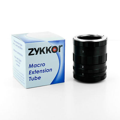 Zykkor Macro Extension Tube Ring Set for Micro 4/3 SLR Film, Digital Camera lens