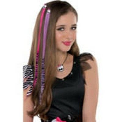 Monster High Pink and Purple Hair Extensions -2ct](Monster High Hair Extensions)