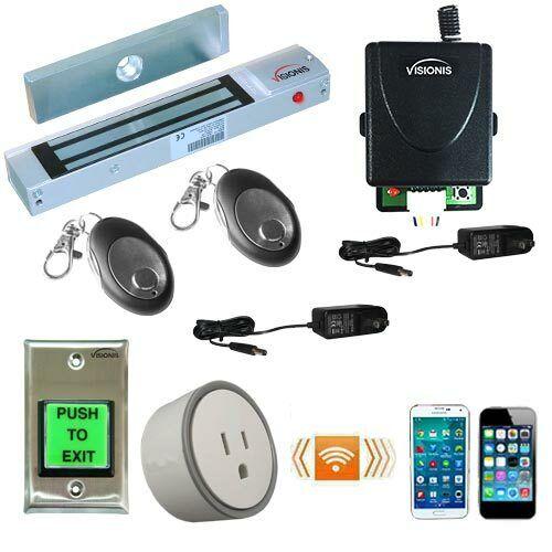 FPC-5206-VS Smartphone WiFi Access Control Kit One Door 300lbs Security Maglock