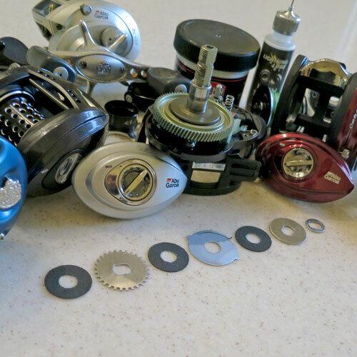 Clicker Drag for Abu Garcia Baitcasting Reels various models Tuning Washers Kit