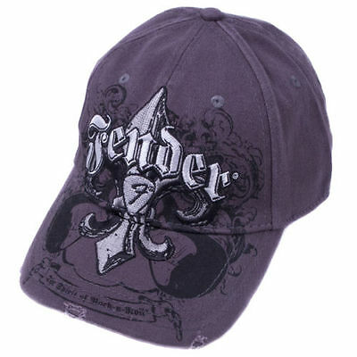 910-6014-546 Fender Guitar Fluer De Funk Stretrch Cap Distressed Charcoal L/XL