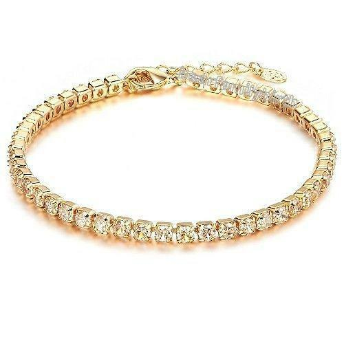 18K Gold Bracelet Women | eBay