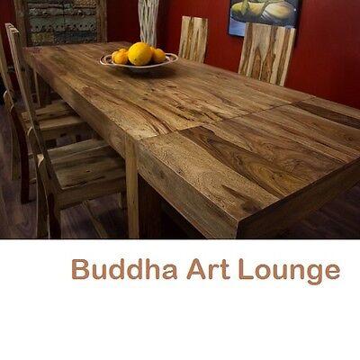 Esstisch Erweiterbar Massiv Holz 160x90 /240x90 Bali Küchentisch Holztisch Natur