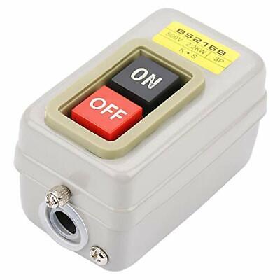Bs216b Push Button Switch Onoff Start Stop Switch 3p Self-locking Mechanical...
