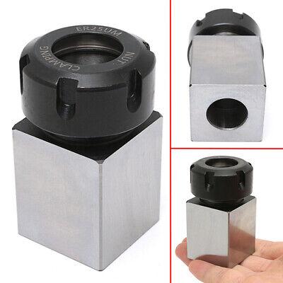 Er-25 Square Collet Chuck Block Holder 3900-5123 For Lathe Engraving Machine C