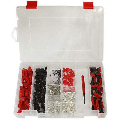 301 Piece Assorted 153045a Anderson Powerpoles With Storage Case And Tool