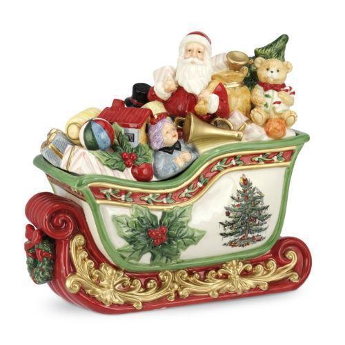 Spode Christmas Tree History: Spode Christmas Tree Cookie Jar
