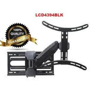 Weekly Promo! Tygerclaw LCD4394BLK 37 inch 60 inch Full Motion Wall Mount $199.99(was$280)