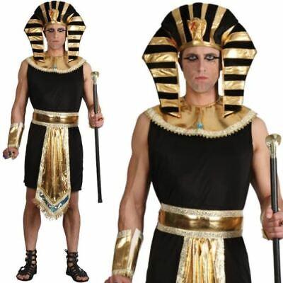 Erwachsene Herren Ägyptischer Pharao König Kostüm Buch Woche Historisch Outfit