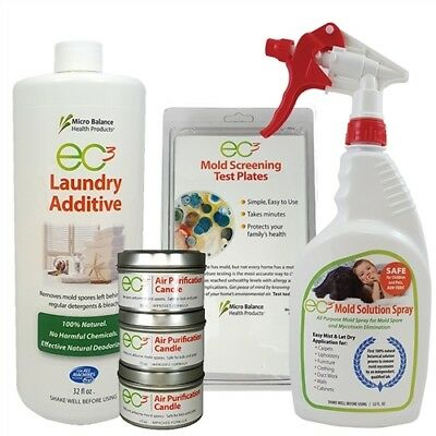 EC3 Environmental Kit - Mold is Everywhere, Clean Your Home & Clothes for Mold