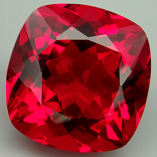23CT. WINSOME!!! RED TOPAZ CUSHION