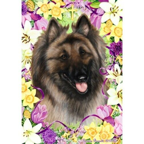 Easter House Flag - Belgian Tervuren 33083