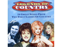 Legends of Country: The First Ladies OF Country 5014293622929 CD