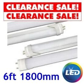 6ft 40w LED T8 Tube - 4200K - Replaces 6foot 70w Fluorescent Tube Light