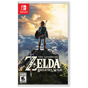 Selling Brand New Legend of Zelda: Breath of The Wild