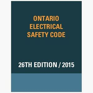 Looking for 2015 Ontario Electrical Safety Code (OESC) 26th Edit