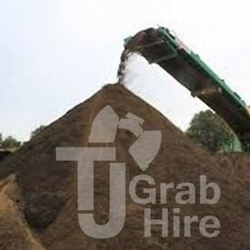 Bulk Load of Screened Top Soil 5/10/20 TONNE Birmingham Solihull FROM £100 + VAT