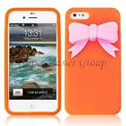 iPhone 4 Silicone Bow Case