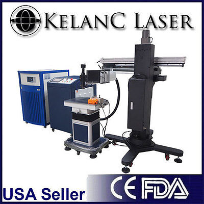 Fda 200 Watt Laser Mold Welding Machine New With Warranty 360 Degree Welding