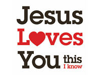 Jesus Loves You.
