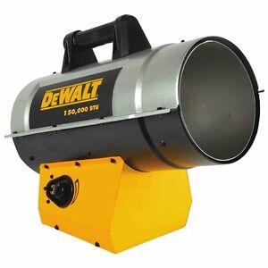 New DeWalt heater